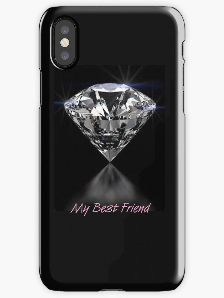 Diamonds iPhone Case by Catherine Hamilton-Veal  ©