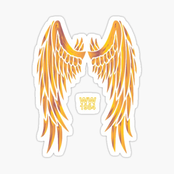 Golden Wonder Wings (WW1984) Sticker