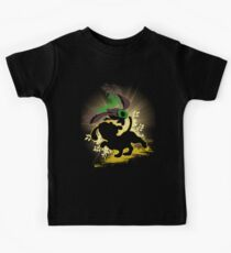 Super Smash Bros. Yellow Duck Hunt Dog Silhouette Kids Tee