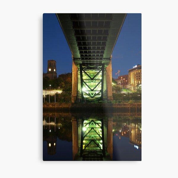 Underneath The Tyne Bridge Metal Print