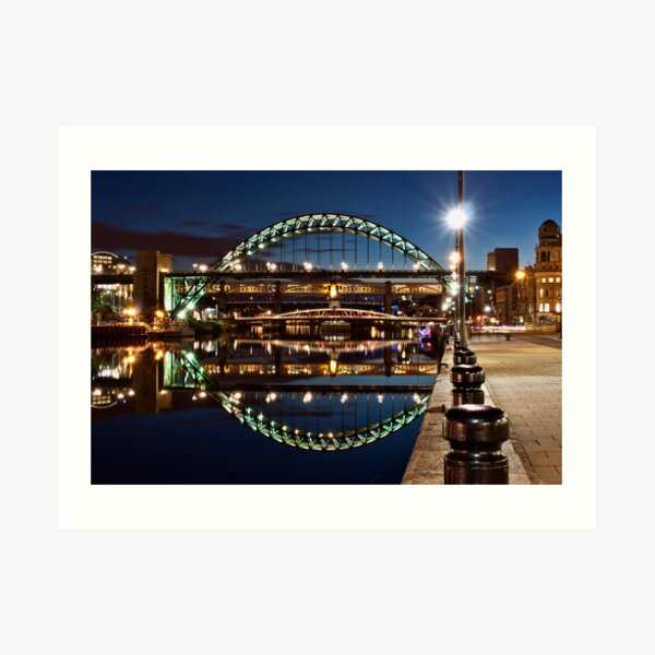 Tyne Bridge At Newcastle Art Print