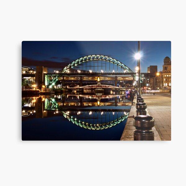 Tyne Bridge At Newcastle Metal Print