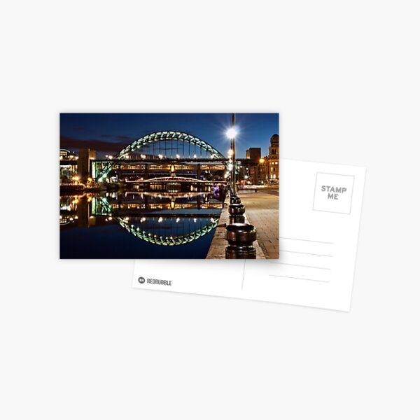 Tyne Bridge At Newcastle Postcard
