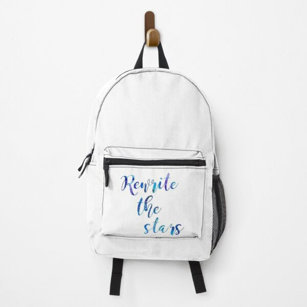 """Rewrite The Stars"" Blue and Purple Galaxy Backpack"