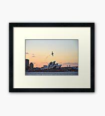 Aerobatic Framed Print