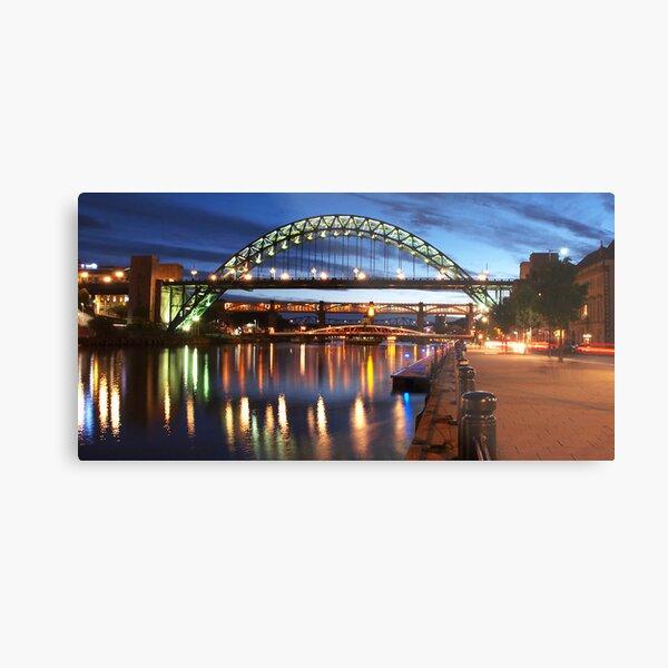 Newcastle Riverside Metal Print