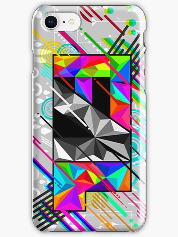 FAL logo iphone case by Falnyx