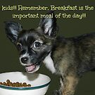 A lesson about Breakfast by Heather Crough