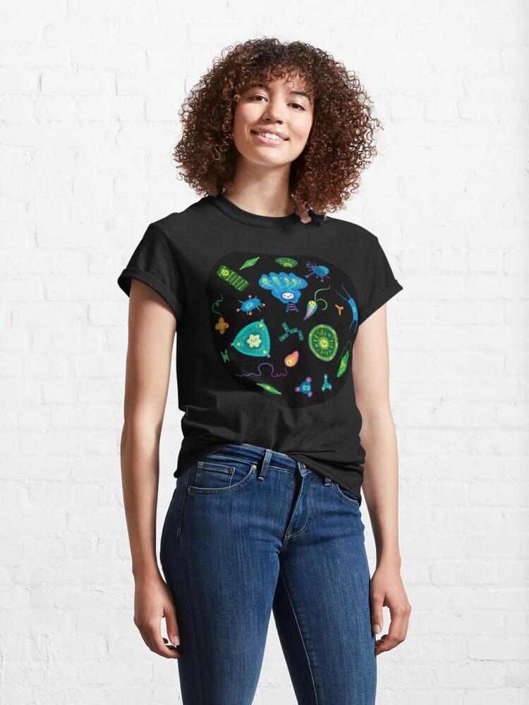 Alternate view of Phytoplankton Classic T-Shirt