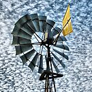 Windmill in the sky by adbetron