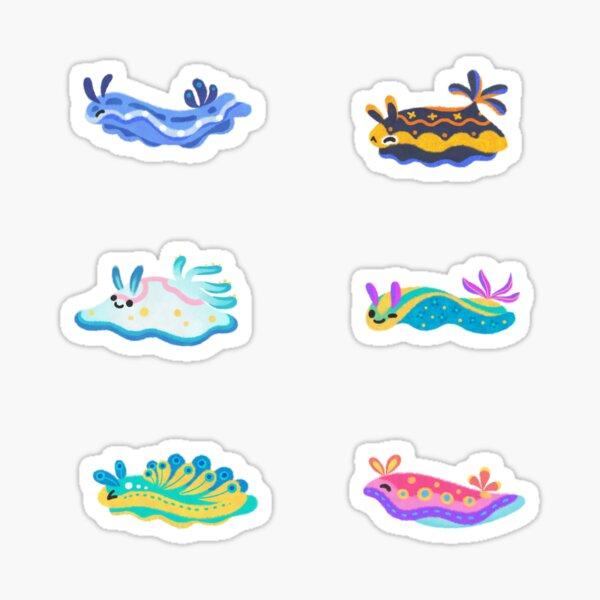 Sea slug Sticker