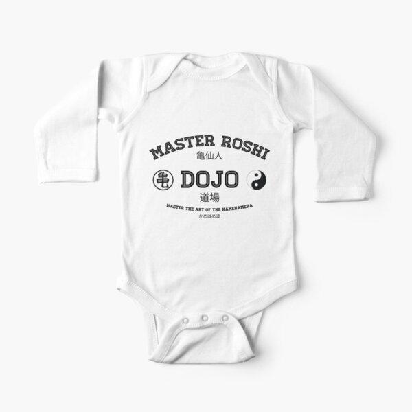 Master Roshi Dojo v1 Long Sleeve Baby One-Piece