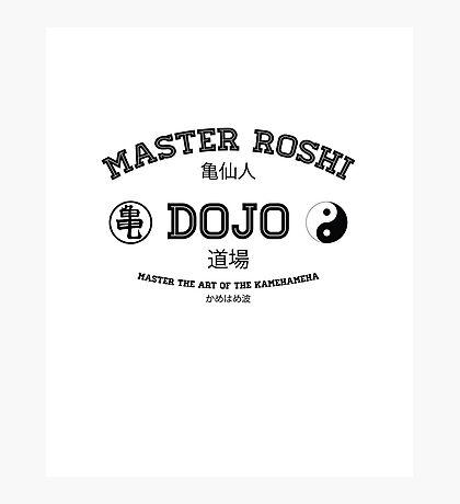 Master Roshi Dojo v1 Photographic Print