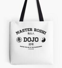 Master Roshi Dojo v1 Tote Bag