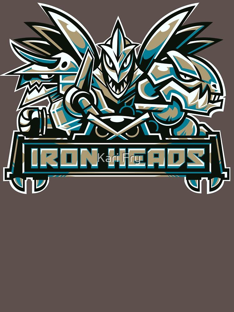 TShirtGifter presents: Team Steel Types - Iron Heads | Unisex T-Shirt