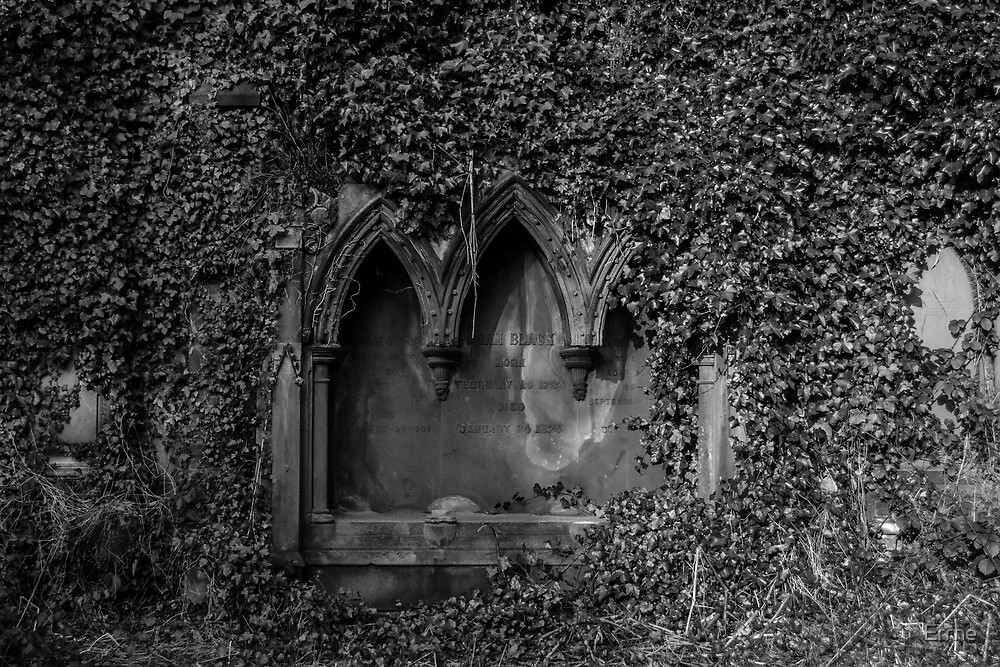 Victorian grave by Errne