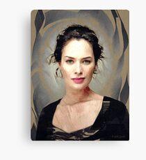 Lena Headey Canvas Print