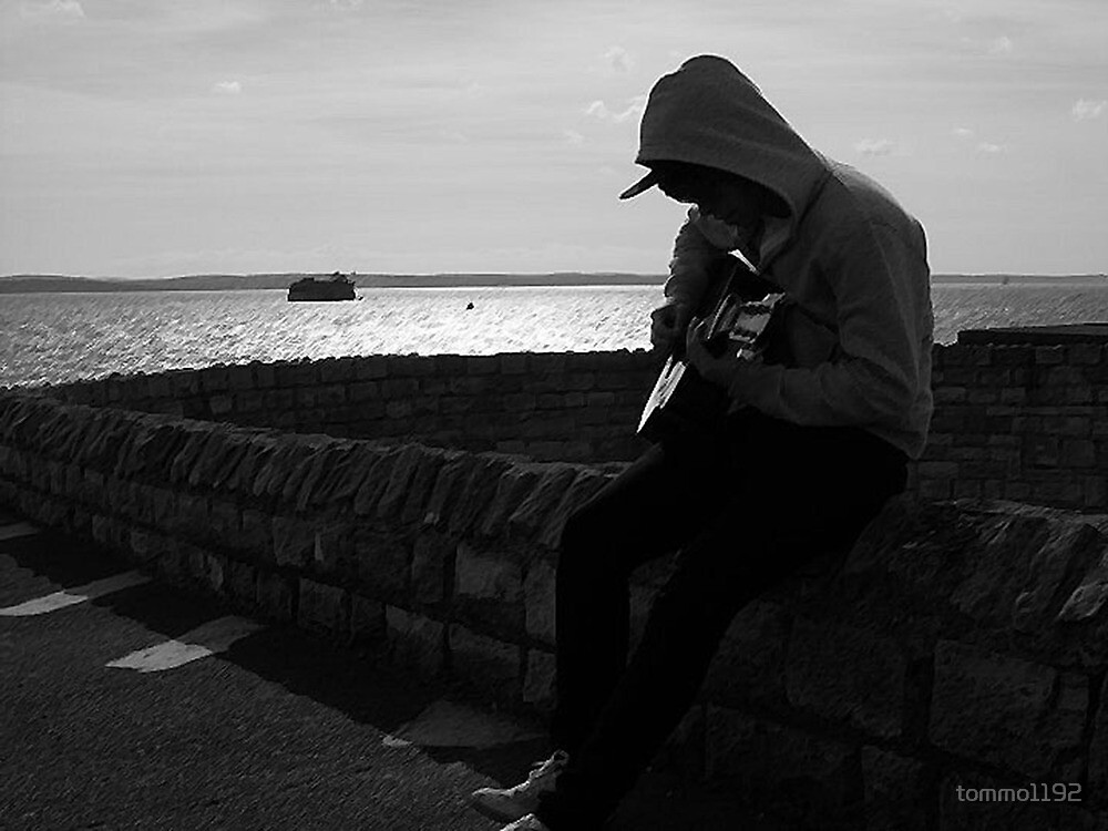 Playing Guitar by tommo1192