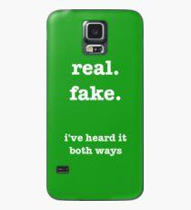 i've heard it both ways: psych Case/Skin for Samsung Galaxy