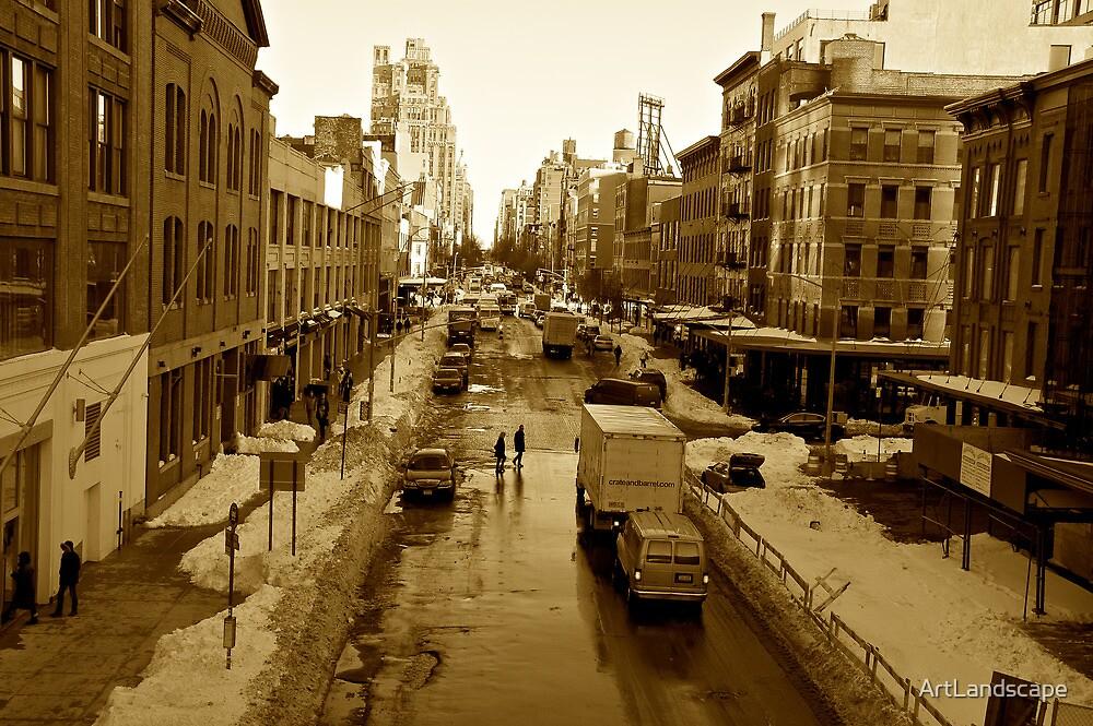 14th Street NYC by ArtLandscape