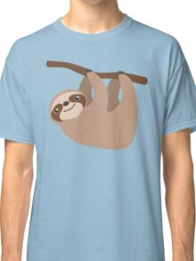 Cute Sloth on a Branch Classic T-Shirt