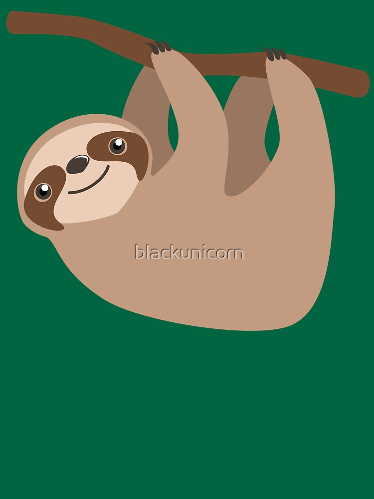 Cute Sloth on a Branch | Unisex T-Shirt