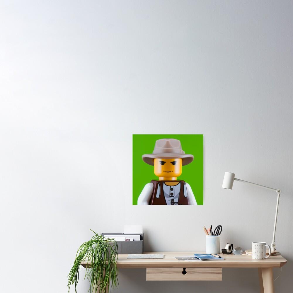 Joseph Beuys Portrait Poster