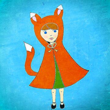 Little Fox Girl by lilu1012