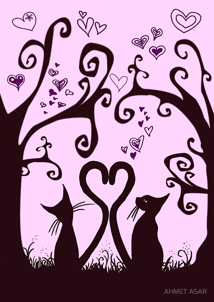 valentine cats by MotionAge Media