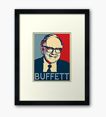 Warren Buffett Framed Print