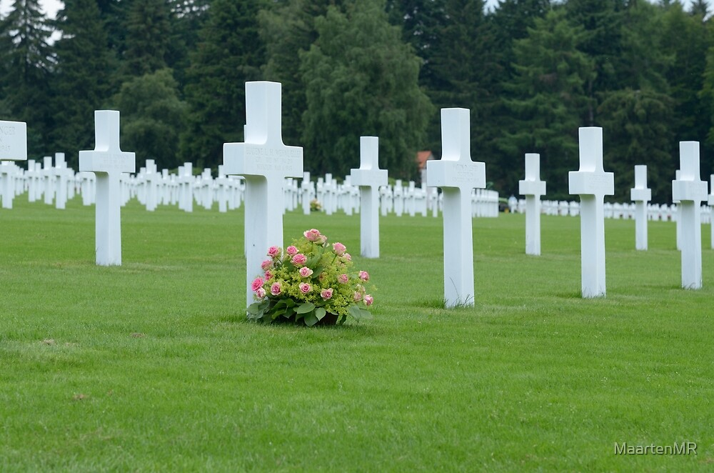 Luxemburg American Cemetery and Memorial by MaartenMR