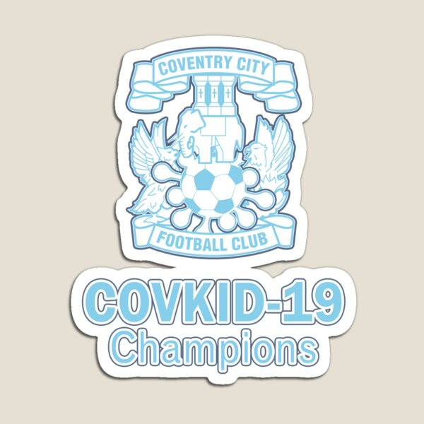 CovKid-19 Champions Badge Magnet