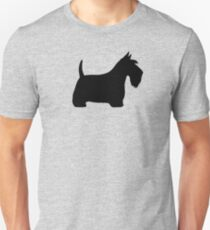 Scottish Terrier Silhouette (n) Slim Fit T-Shirt