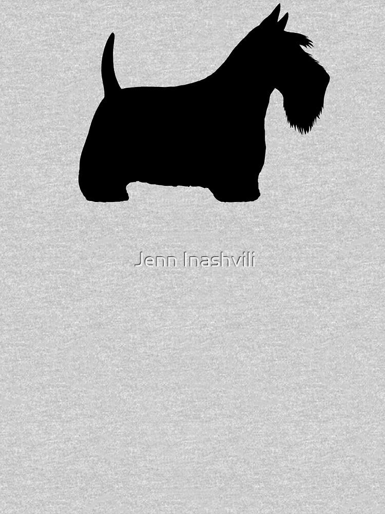 Scottish Terrier Silhouette(s) Black Scottie Dog by ShortCoffee
