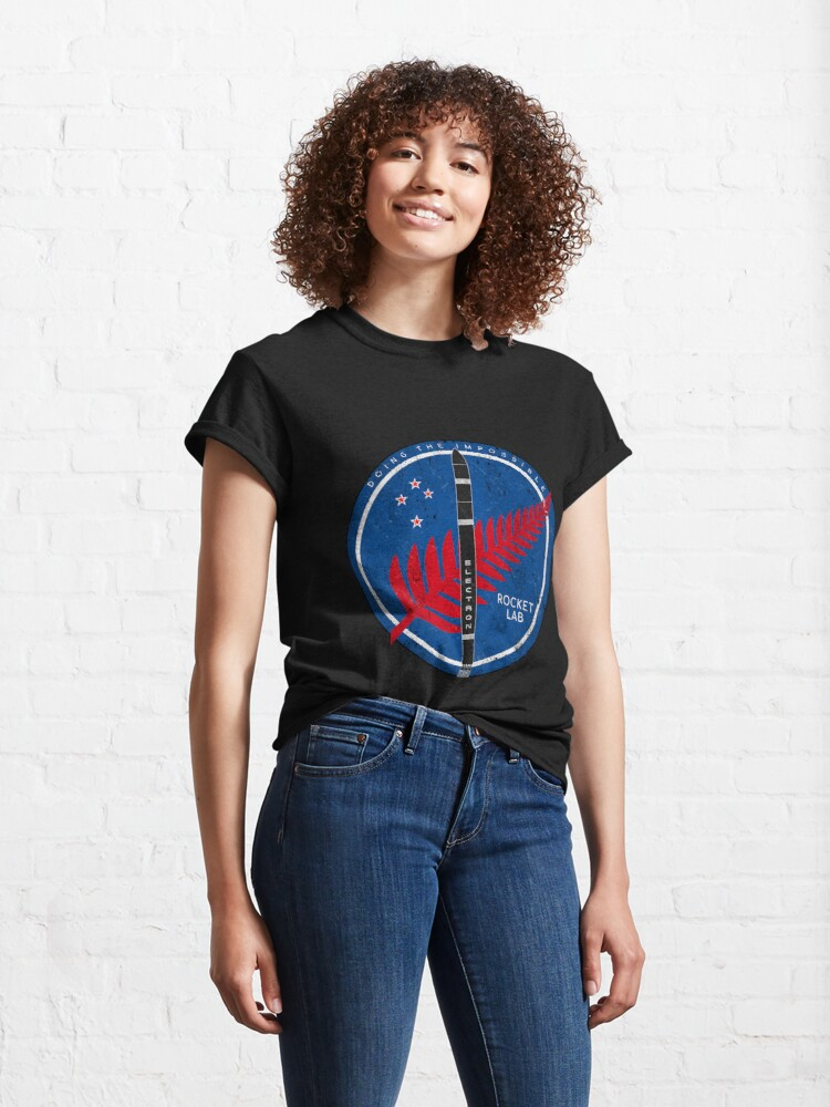 Alternate view of Electron Rocket. Doing the Impossible Classic T-Shirt
