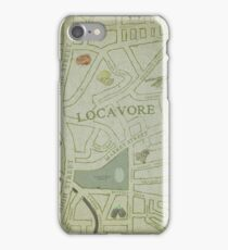 Town of Locavore iPhone Case/Skin