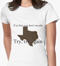 Secession - Texas Tee Womens Fitted T-Shirt