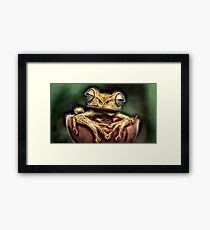Wild nature - reptile #3 Framed Print
