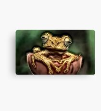 Wild nature - reptile #3 Canvas Print