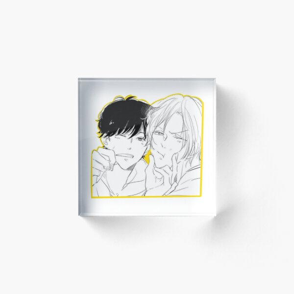 Banana Fish AshEiji Sticker Acrylic Block
