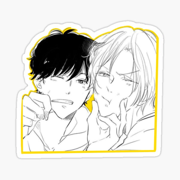 Poisson banane AshEiji Sticker Sticker