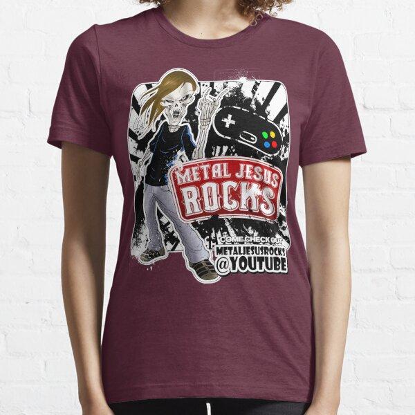 Undead Rocker - Metal Jesus Rocks (YOUTUBE) Essential T-Shirt