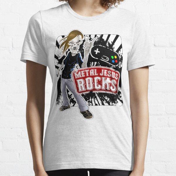 Undead Rocker - Metal Jesus Rocks Essential T-Shirt