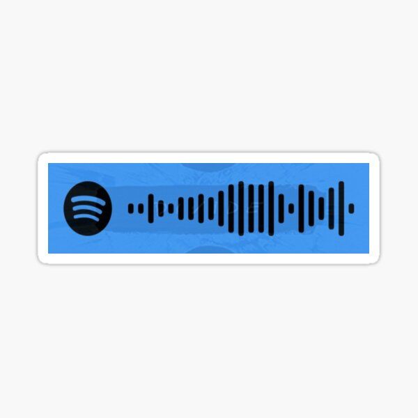 perfect - ed sheeran spotify code Sticker