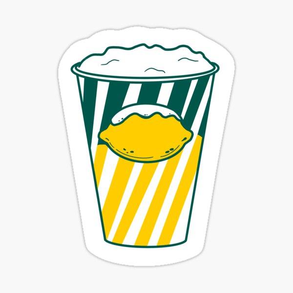 Dels Lemonade Cup Sticker
