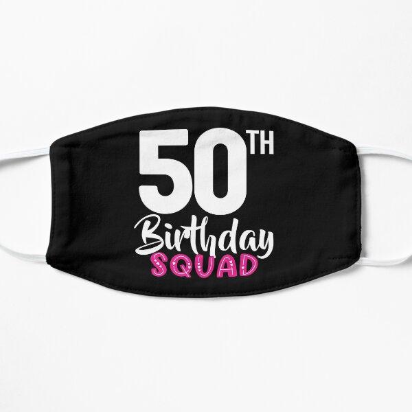 50th Birthday Squad Mask