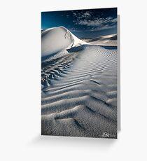 Dune Drifts Greeting Card