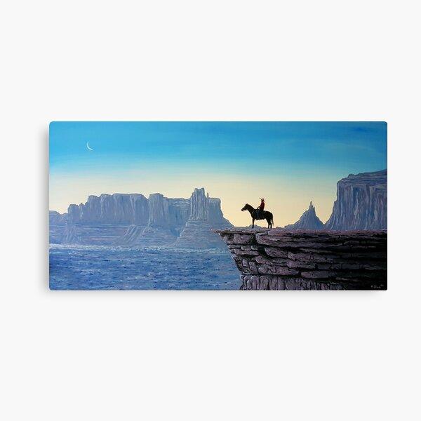 The Last Cowboy Canvas Print