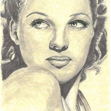 Rita Hayworth by tonito21