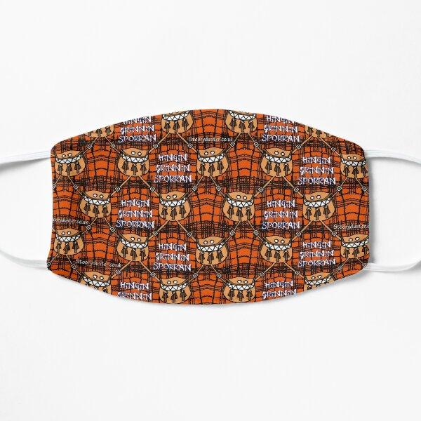 Hingin Grinning Sporran Orange Mask. Flat Mask